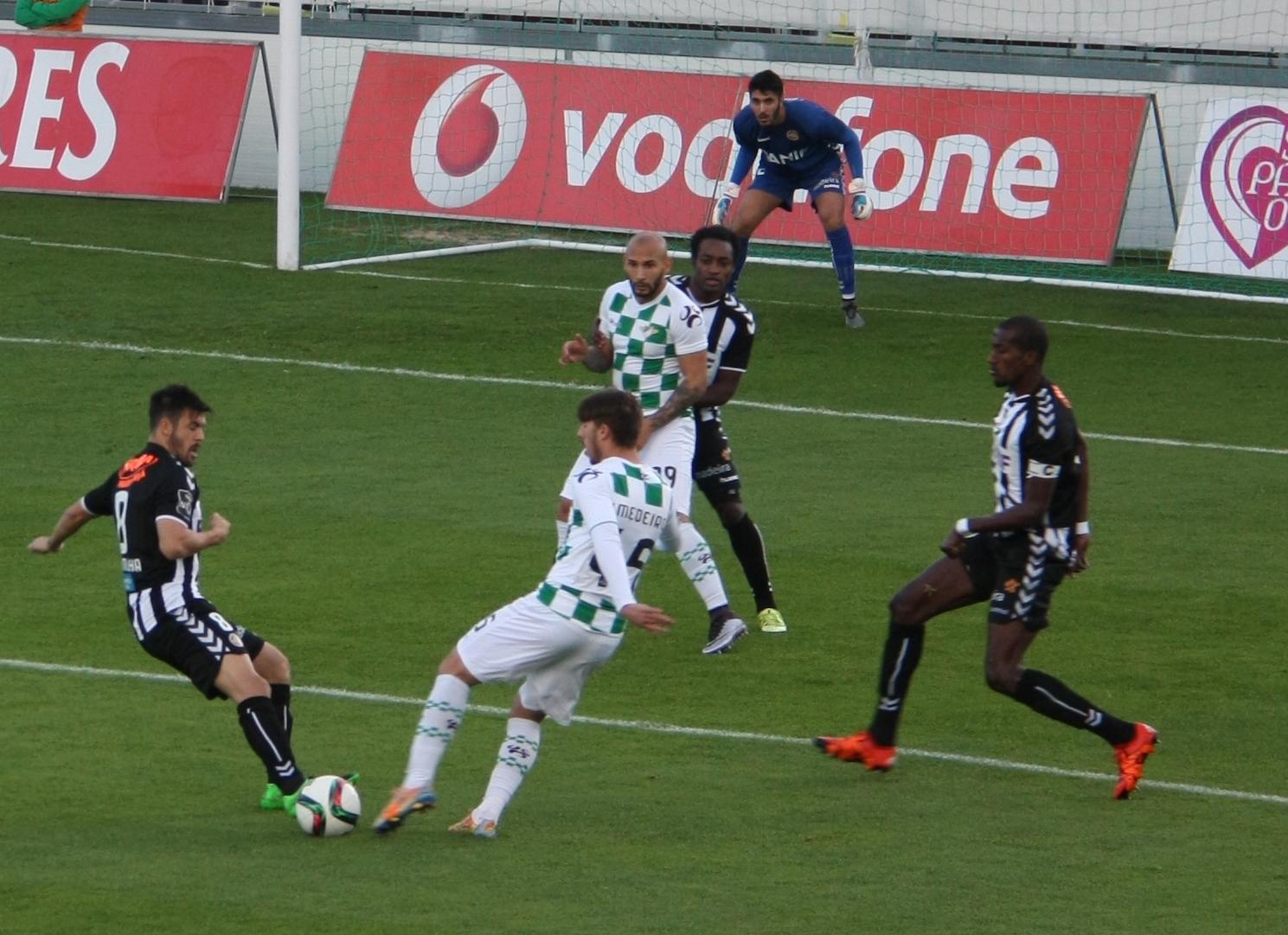 Feirense: Clube Desportivo Nacional Liga NOS: Nacional Derrotado Em