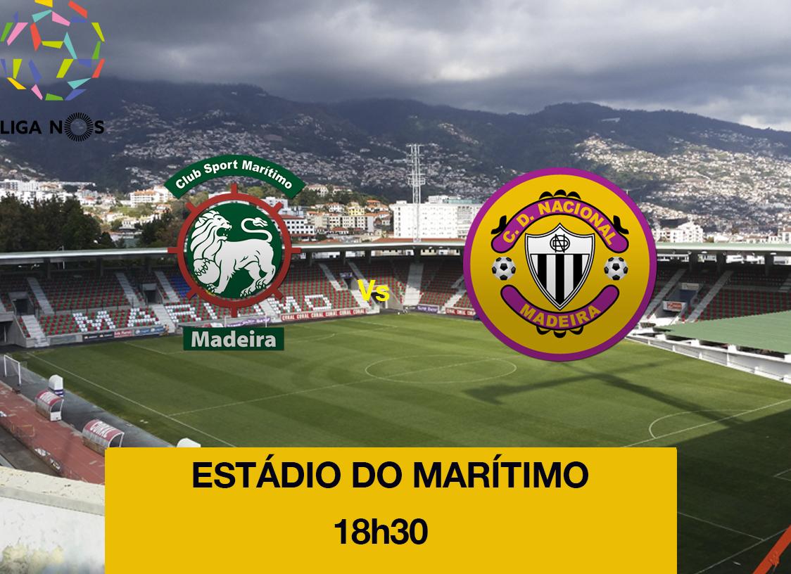 Feirense: Clube Desportivo Nacional Nacional Defronta Marítimo Esta