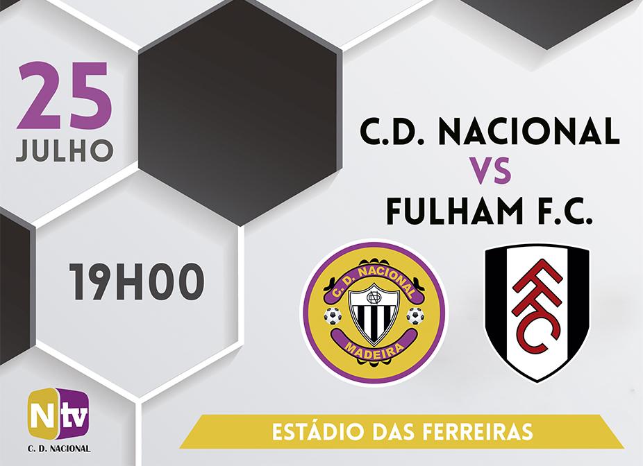 Feirense: Clube Desportivo Nacional Nacional Defronta Hoje O Fulham