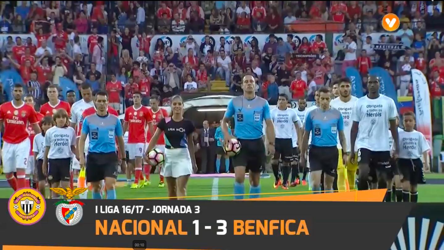 Benfica Nacional Resumo: Clube Desportivo Nacional Nacional 1-3 Benfica: Resumo