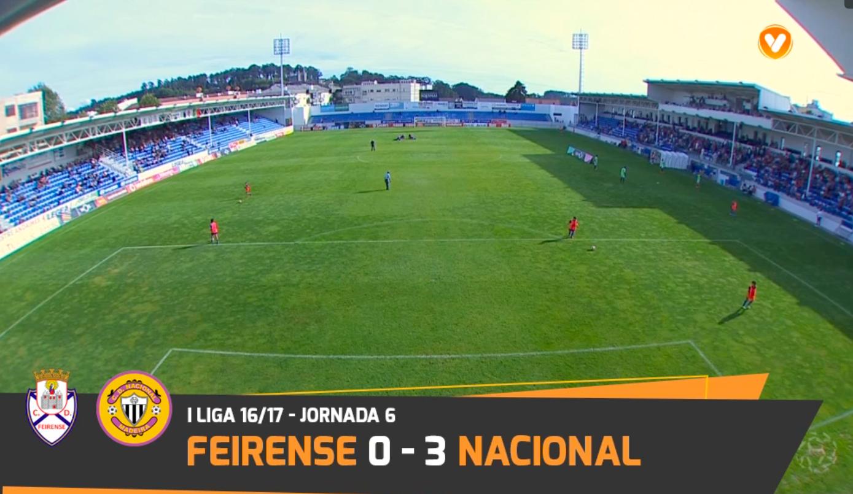 Feirense: Clube Desportivo Nacional Nacional Vence Feirense Por 3-0