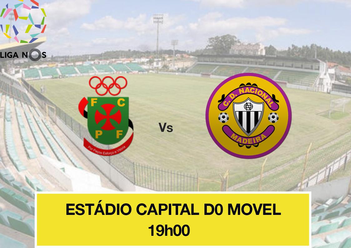 Feirense: Clube Desportivo Nacional Nacional Joga Hoje Em Paços De
