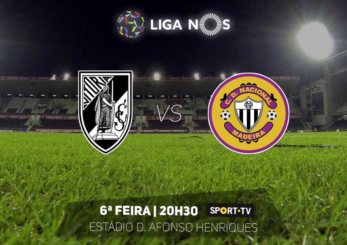 Feirense: Clube Desportivo Nacional Nacional Joga Hoje Em Guimarães