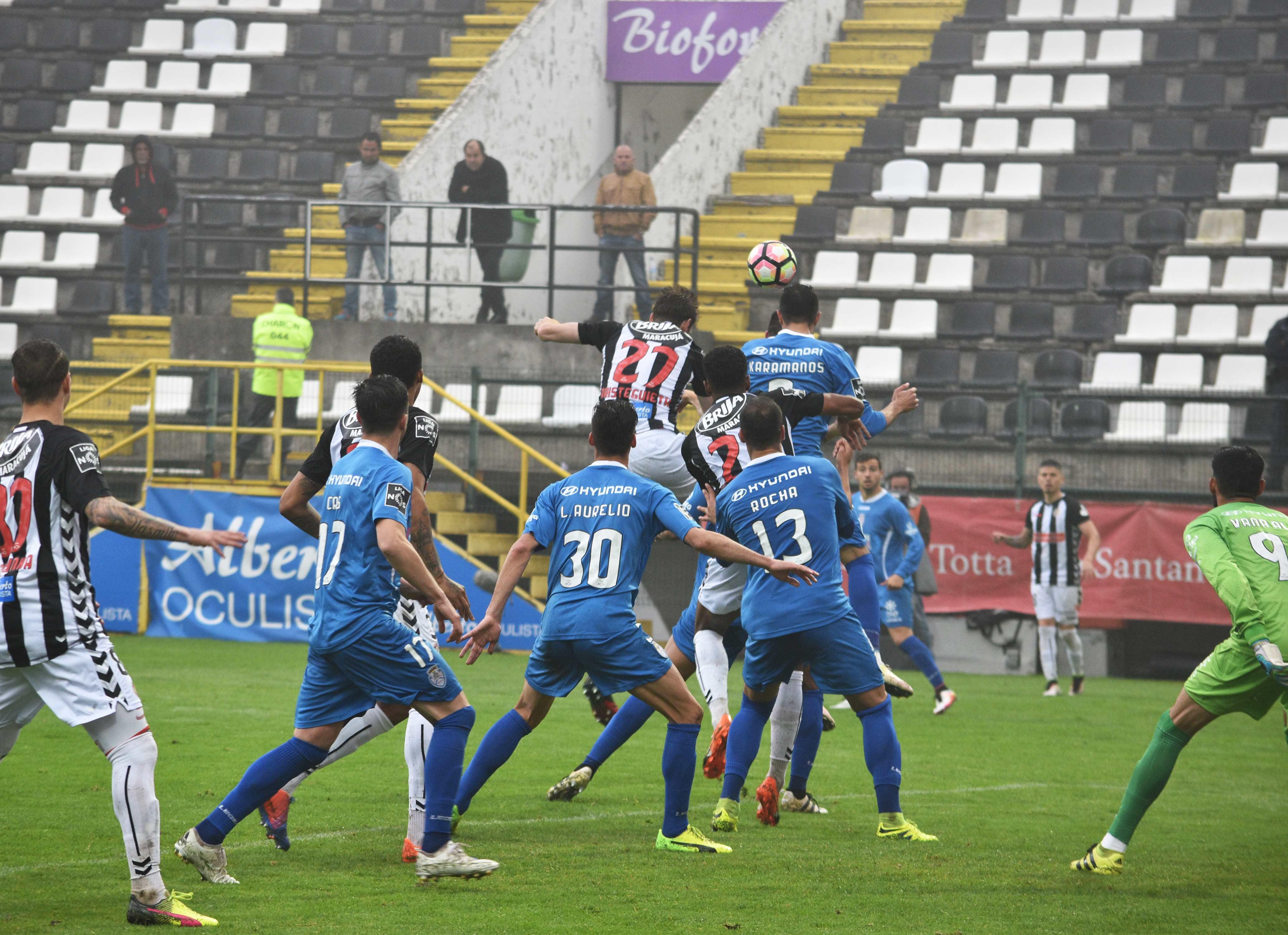 Feirense: Clube Desportivo Nacional Nacional Empata Na Receção Ao