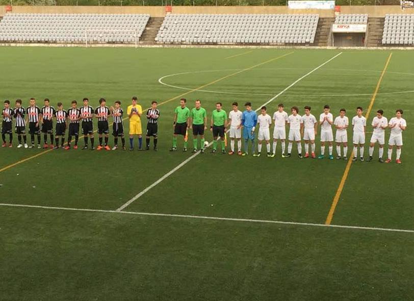 Feirense: Clube Desportivo Nacional Iniciados A Derrotados Pela
