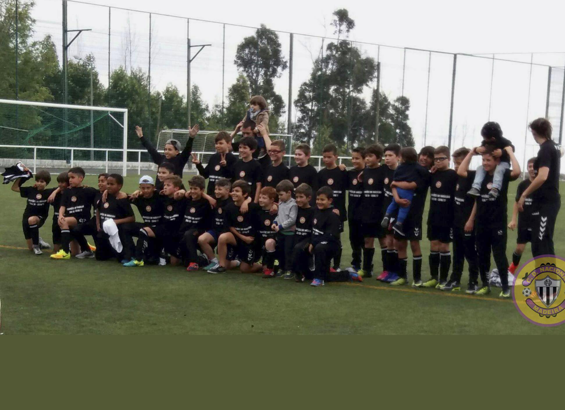 Feirense: Clube Desportivo Nacional Sub-10 Vencem Em Gaula E São