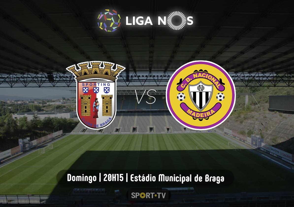 Feirense: Clube Desportivo Nacional Nacional Joga Hoje Em Braga