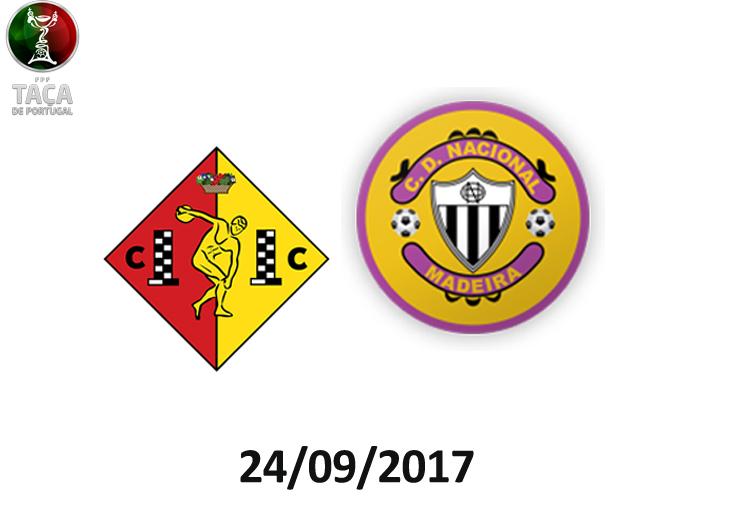 Feirense: Clube Desportivo Nacional Nacional Defronta Clube Condeixa