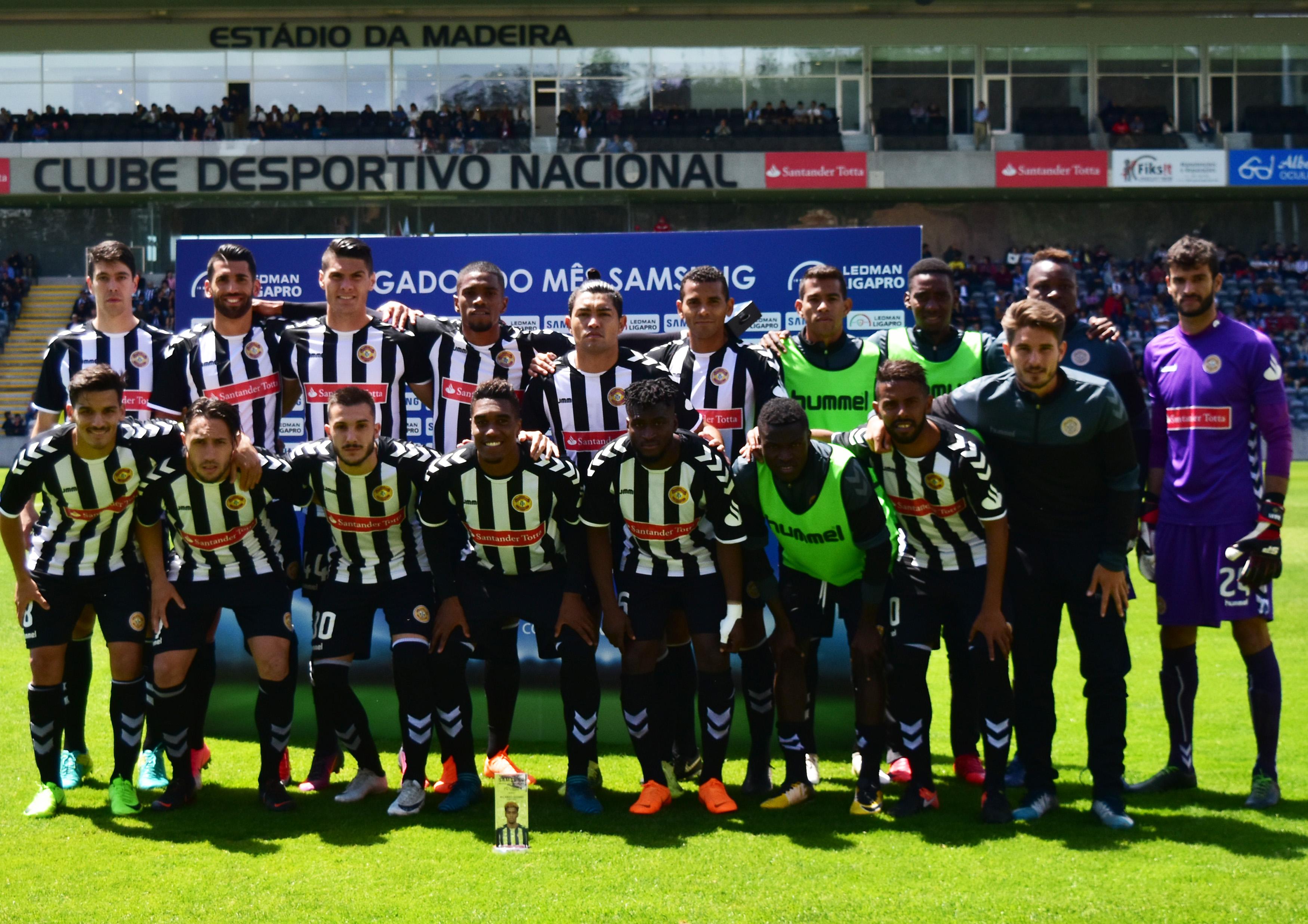 Feirense: Clube Desportivo Nacional Nacional Joga Esta Manhã Em Barcelos