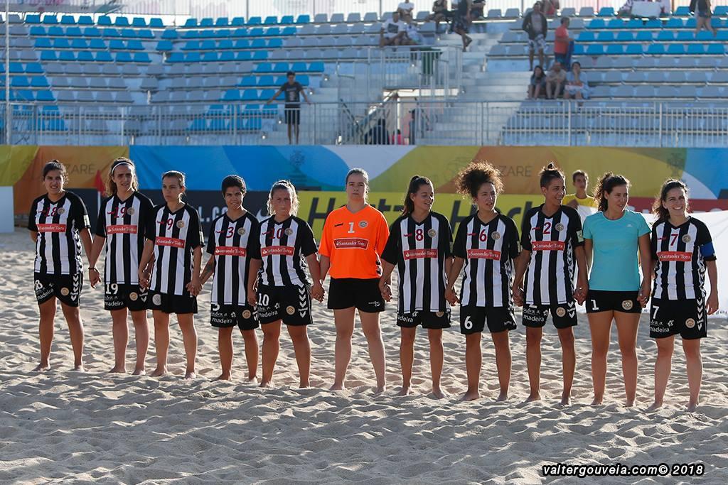 Futebol de praia direto