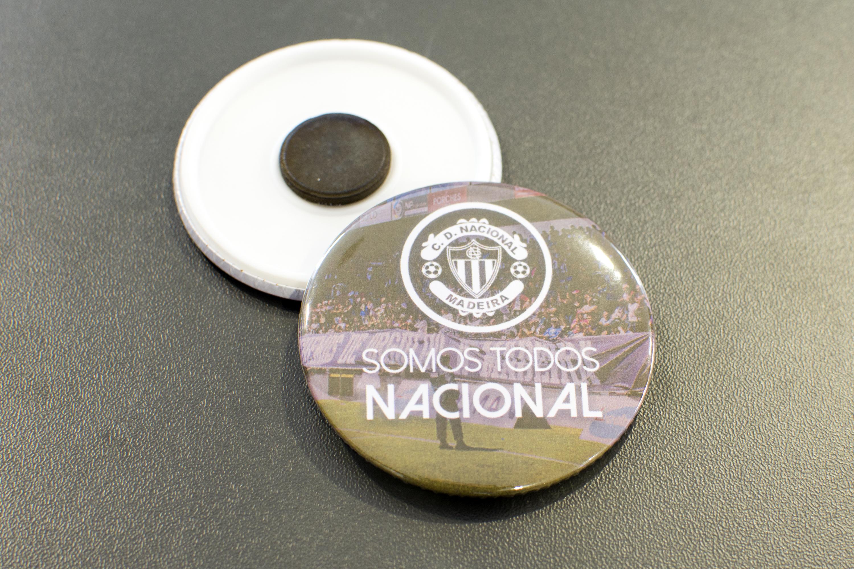 Pin magnético 'Somos Todos Nacional'