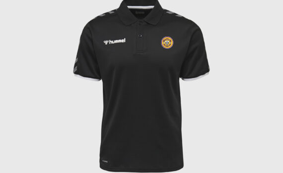 Polo preto Authentic Hummel